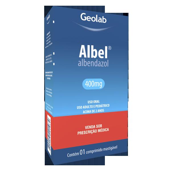 Albel 400mg Com 1 Comprimidos Geolab