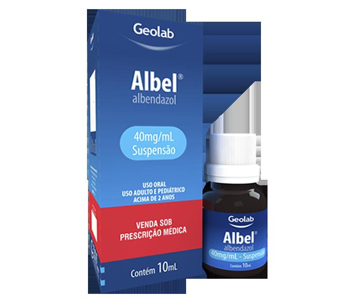 Albel (Albendazol)  40 mg/10mL