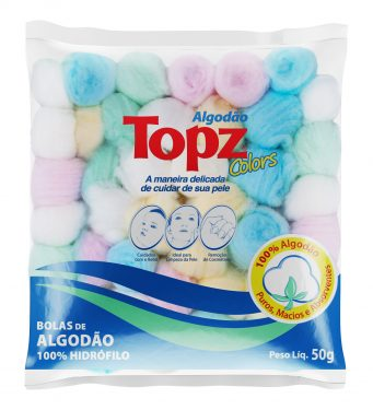 Algodão TOPZ 100% Hidrófilo 50g