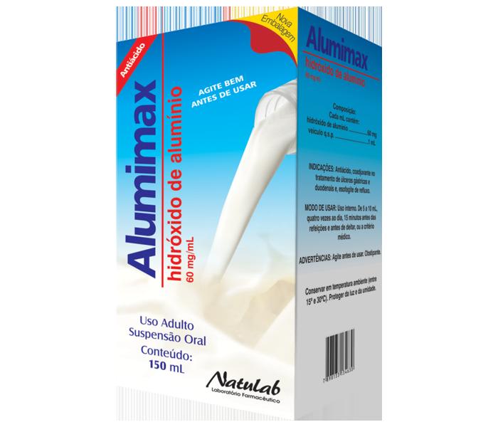 Alumimax 60mg/ml 150ml - Natulab