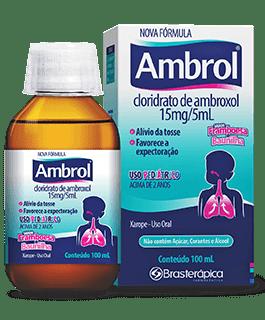 Ambrol Xarope Infantil 15mg/5ml