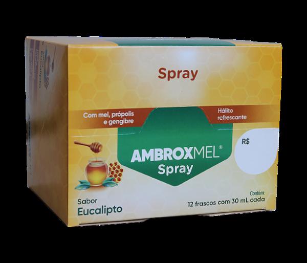 Ambroxmel Spray Mel/Eucalipto (12 frascos) com 30ml - Cimed