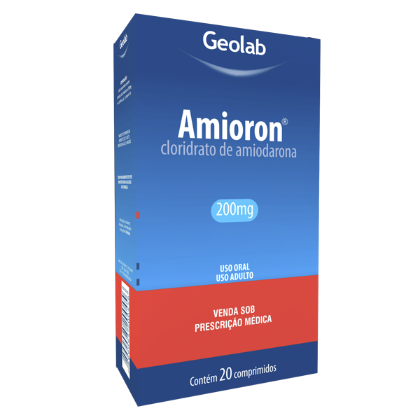Amioron 200mg com 20 comprimidos - Geolab