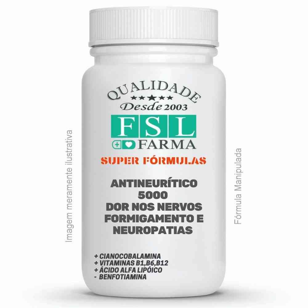 Antineurítico 5000 - Dor nos nervos, formigamento e Neuropatias ®
