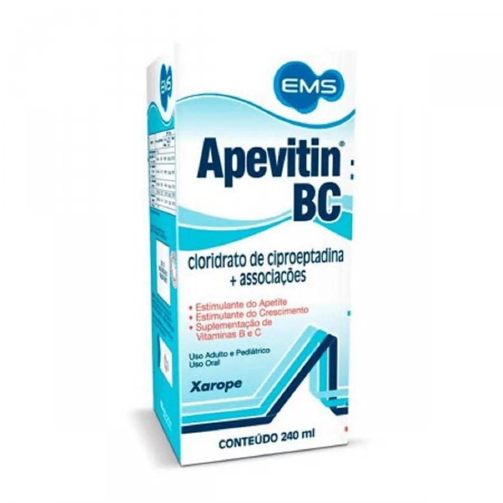 Apevitin Bc 240Ml Solução
