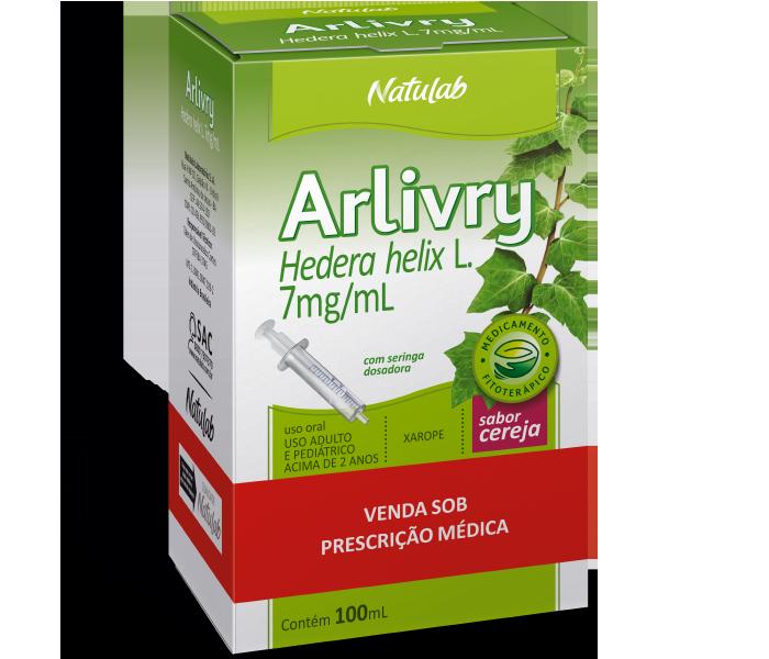 Arlivry 7mg/ml com 100ml sabor Cereja - Natulab