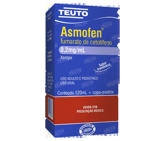 Asmofen Xarope 0,2mg/120ml - Teuto
