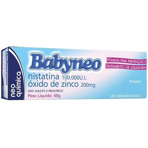 Babyneo (Nistatina + Óxido De Zinco) Pom 60 G