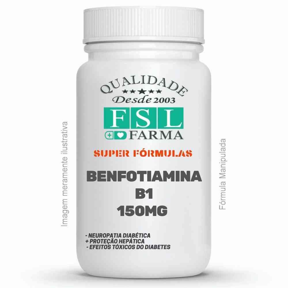Benfotiamina 150 mg - Vitamina B1 Lipossolúvel ®