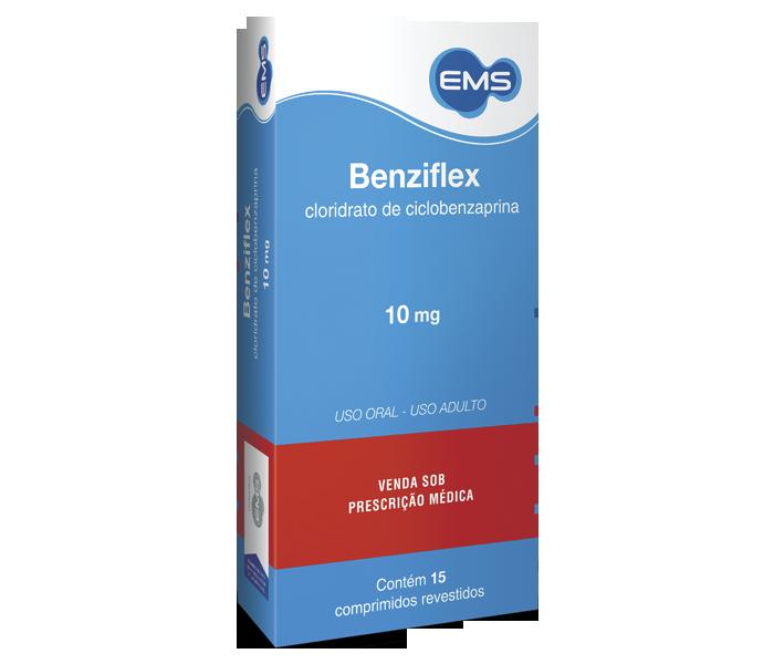 Benziflex 10mg com 15 comprimidos - EMS