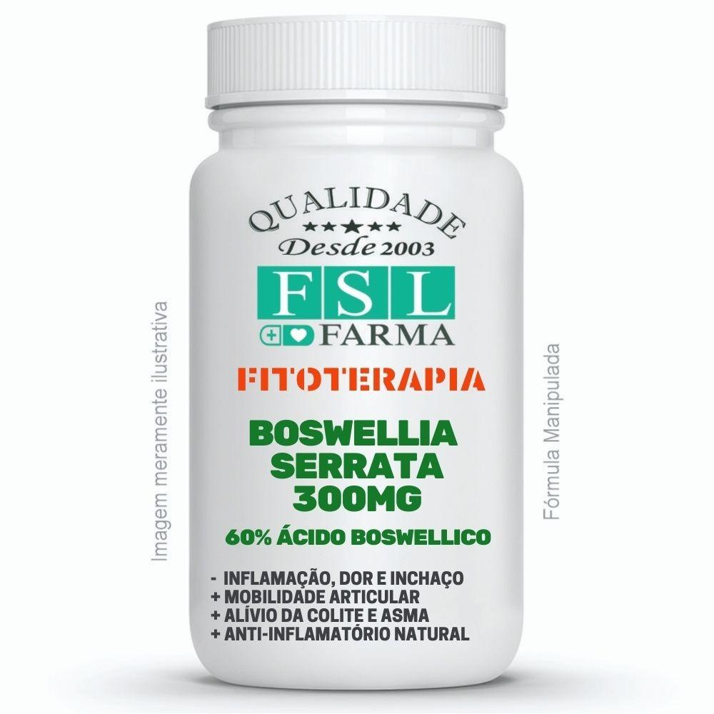 Boswellia Serrata 300mg - 60% Ácido Boswellico ®