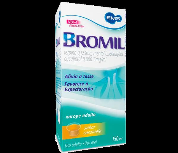 Bromil xarope adulto 150ml - EMS