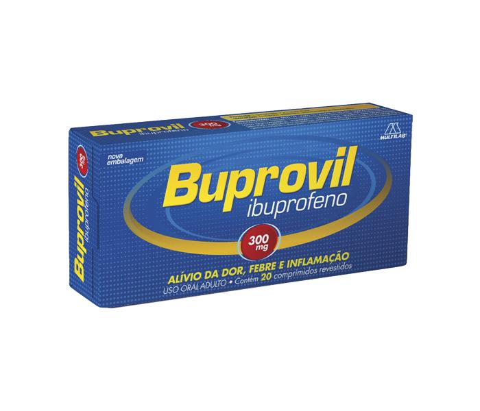 Buprovil 300mg 20 comprimidos - Multilab