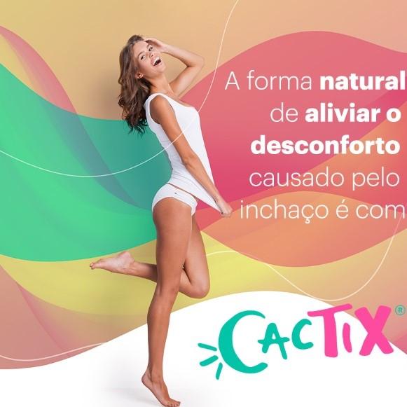 Cactix 500mg + Cromo Picolinato 100mcg - Diurético e Saciatogênico ®