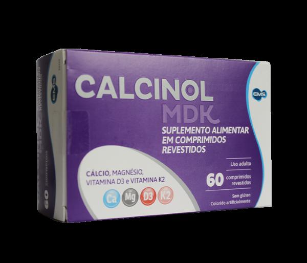 Calcinol MDK com 60 comprimidos - EMS