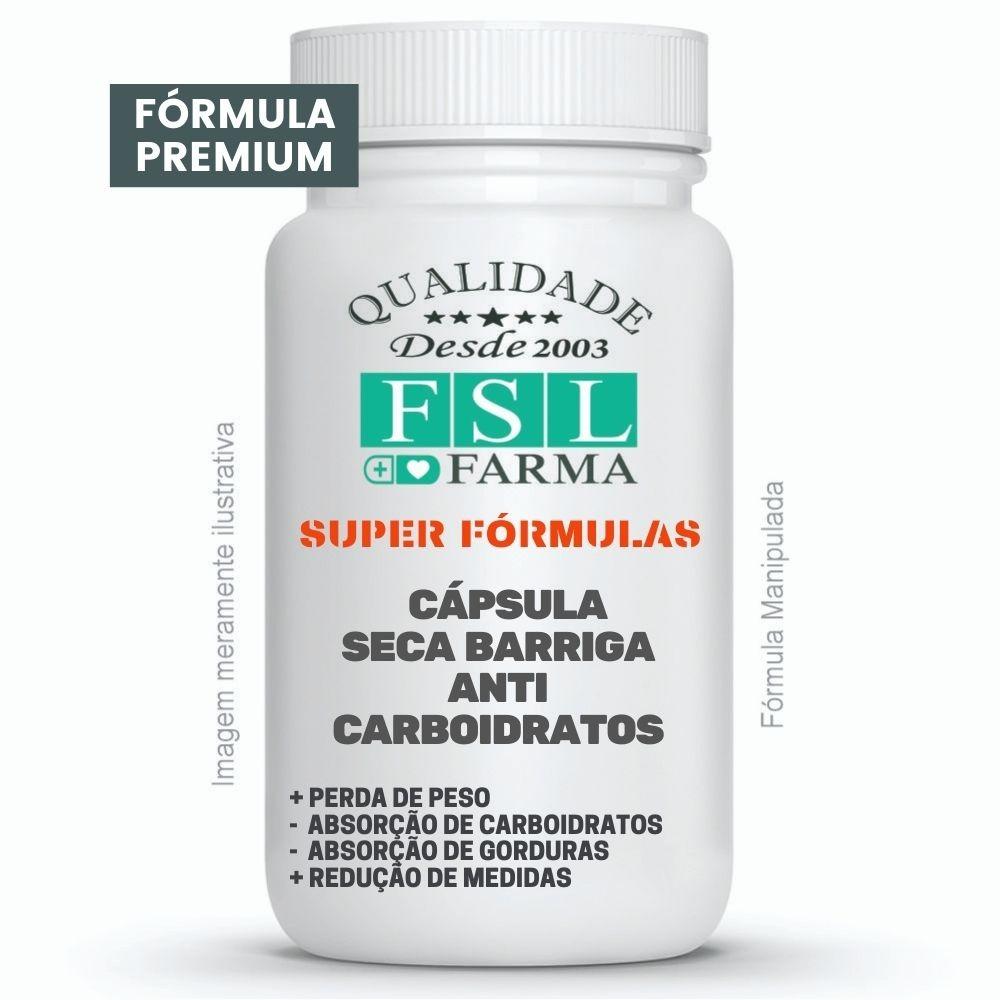 Cápsula Seca Barriga Anti-Carboidratos ®