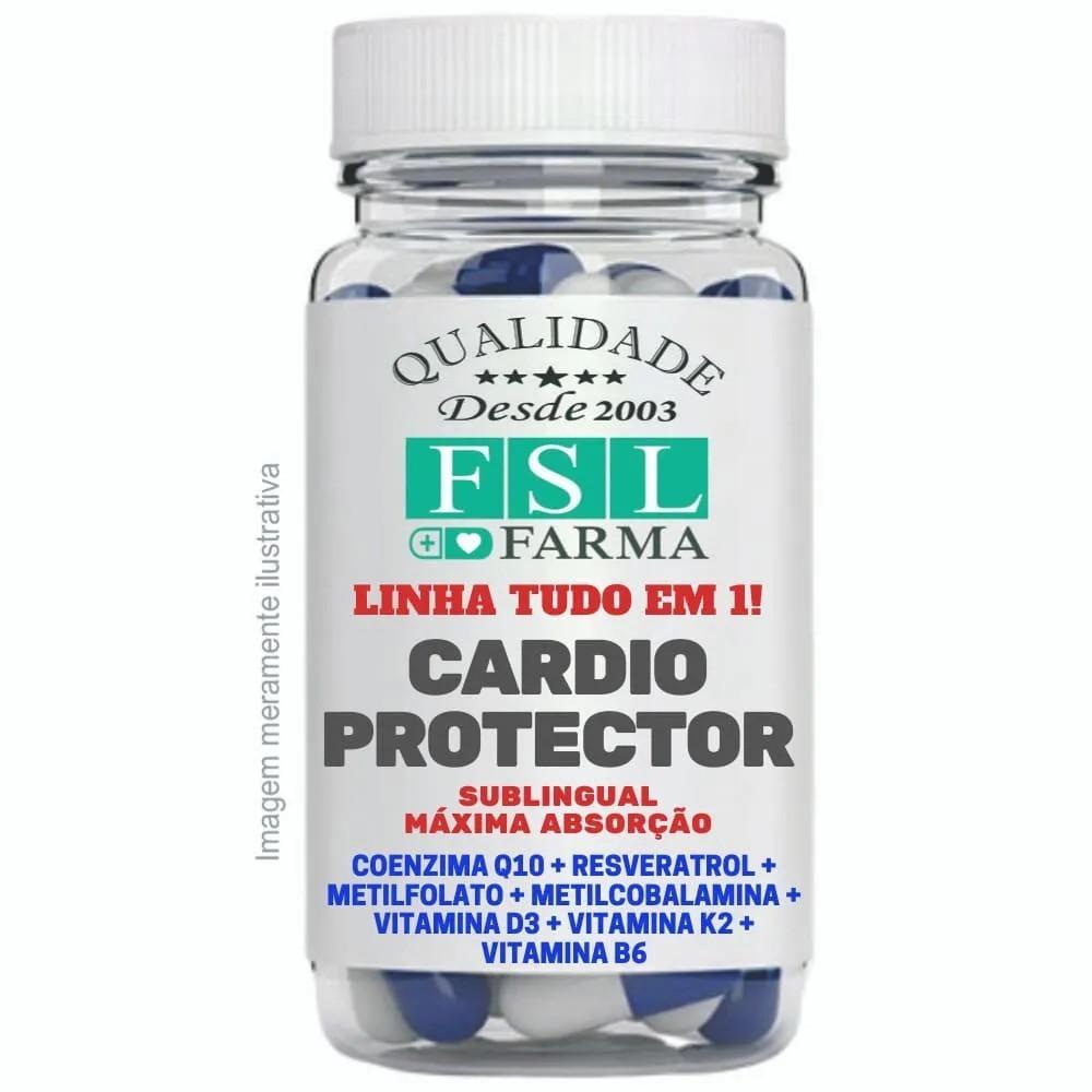 Cardio Protector Sublingual - Suporte Para Coração