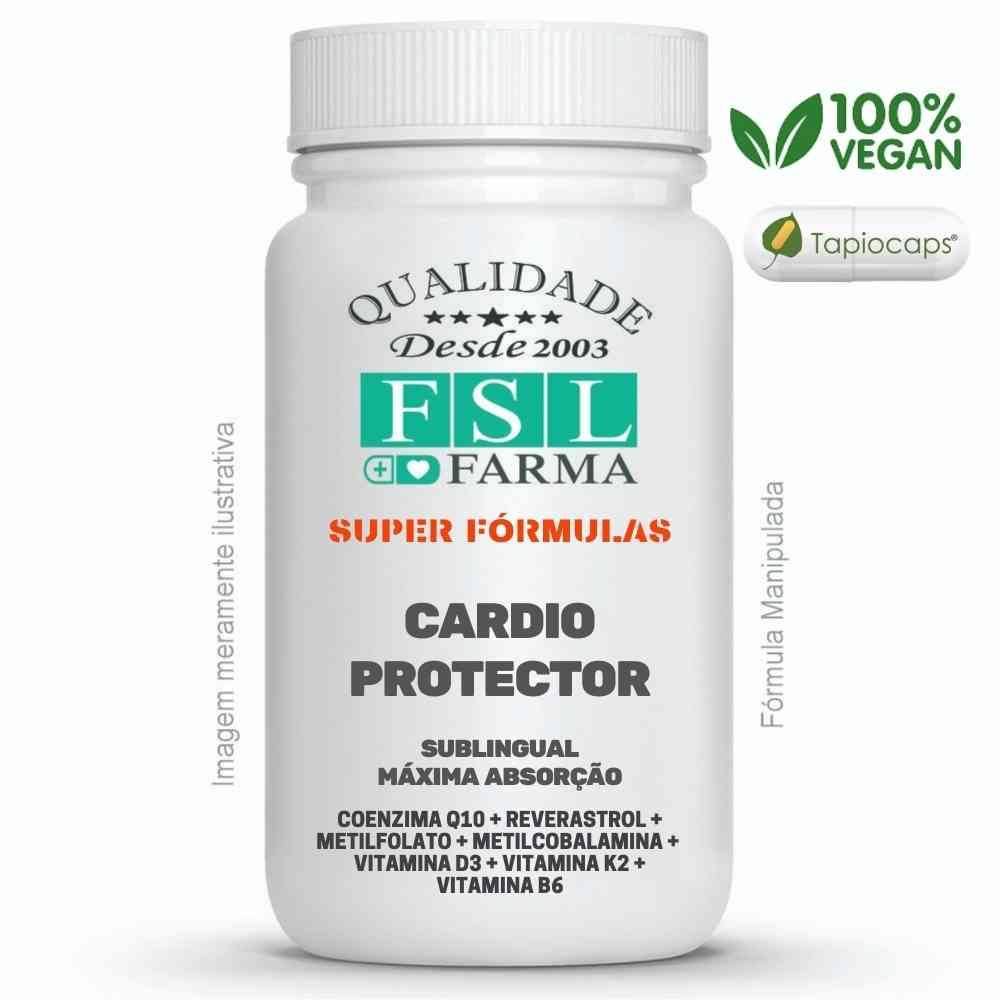 Cardio Protector Sublingual - Suporte Para o Coração ®