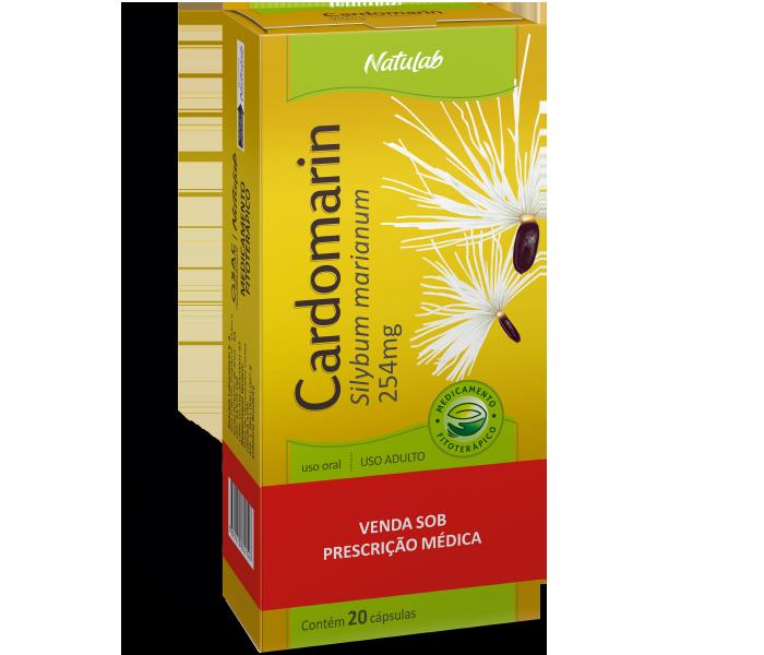 Cardomarin 254mg com 20 cápsulas - Natulab
