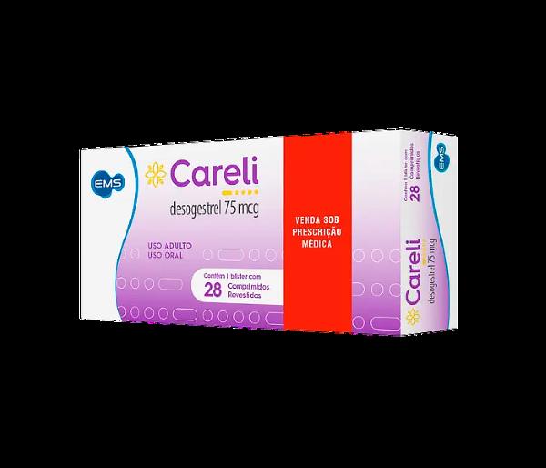 Careli 75mcg com 28 comprimidos - EMS