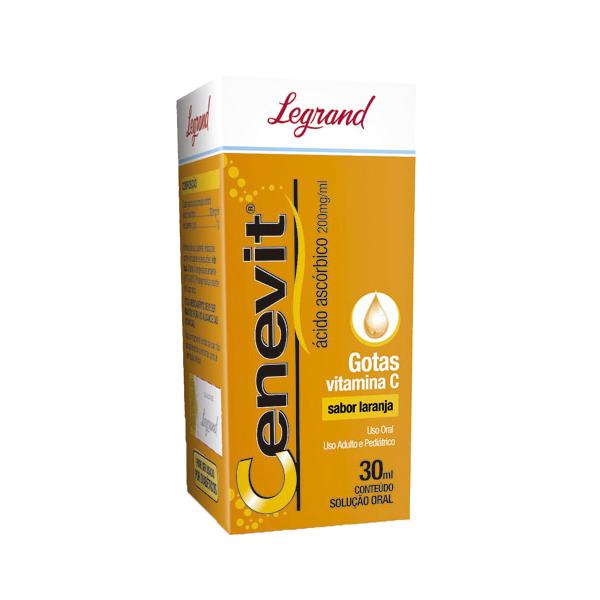 Cenevit 200mg/ml com 30ml - Legrand