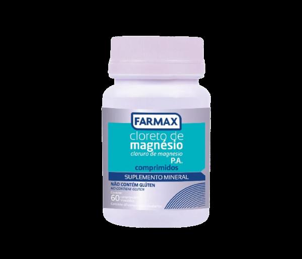 Cloreto de Magnésio 700mg 60 cápsulas - Farmax