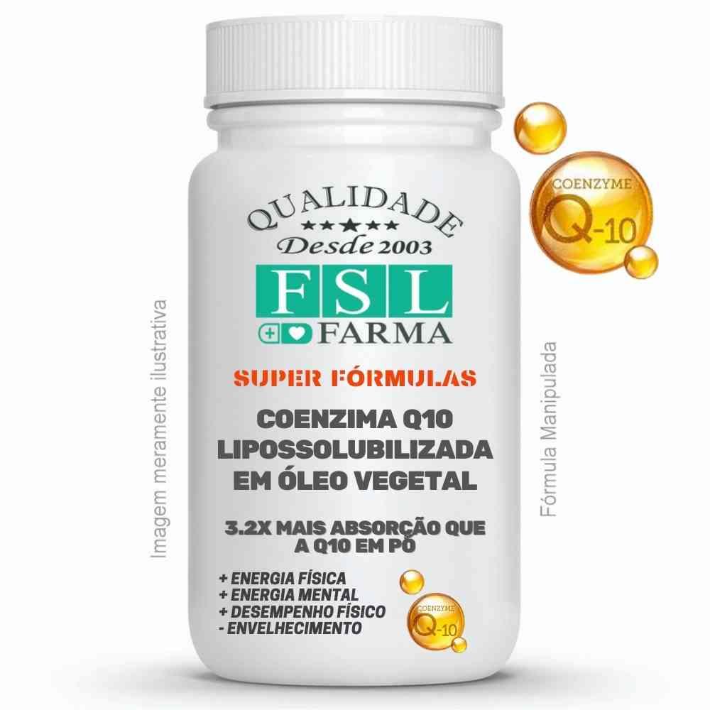 Coenzima Q10 50mg Lipossolubilizada em óleo ®