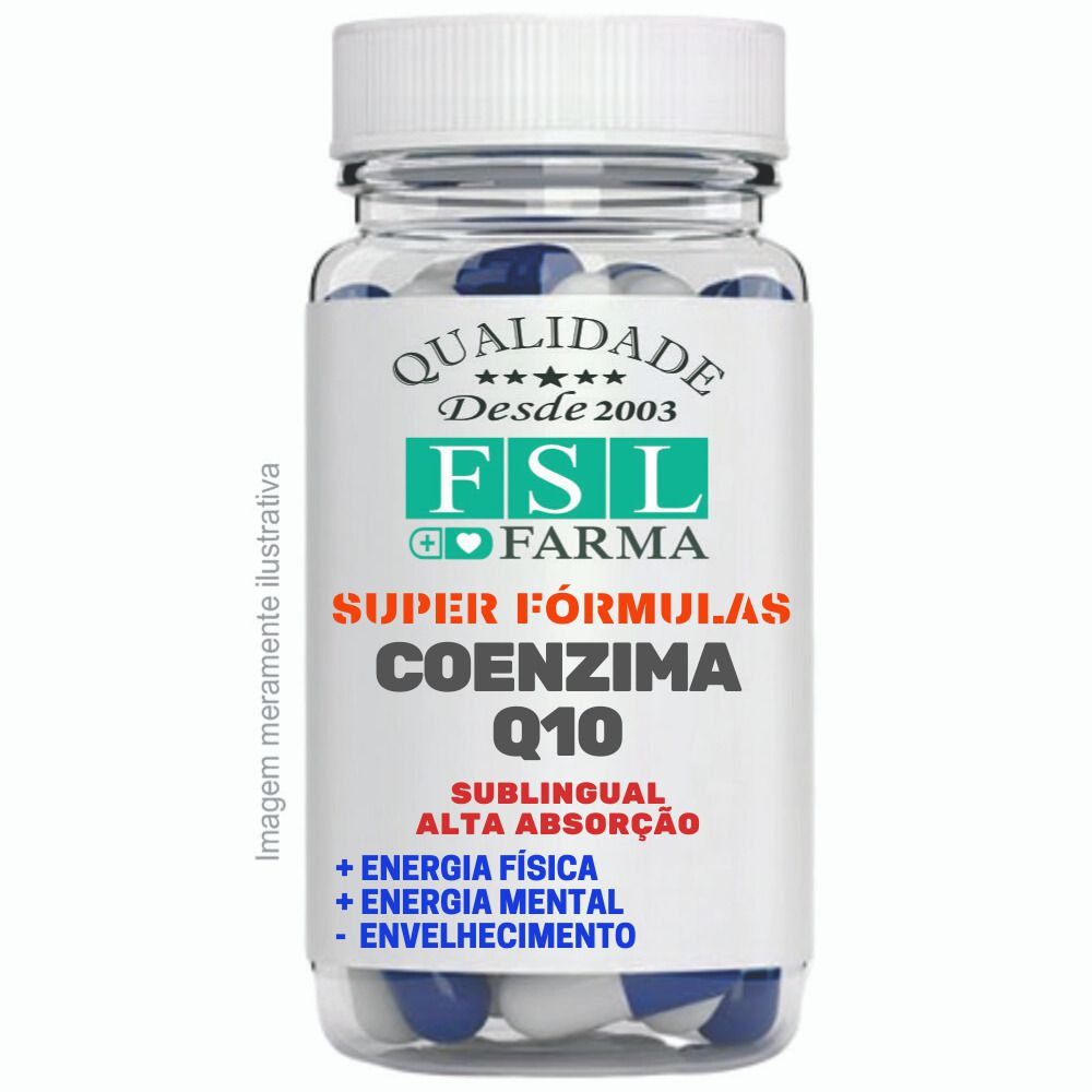 Coenzima Q10 Coq10 100Mg Sublingual Vegana