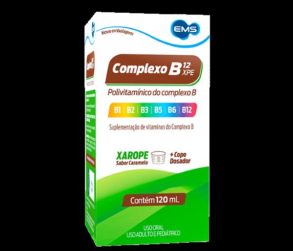 Complexo B12 Xarope com 120ml - EMS