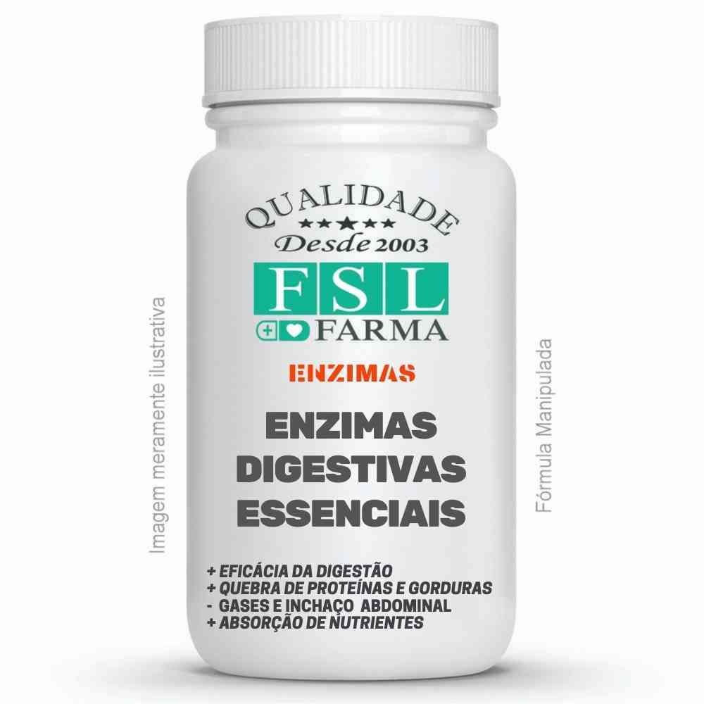 Complexo De Enzimas Digestivas Essenciais Gastroresistentes ®