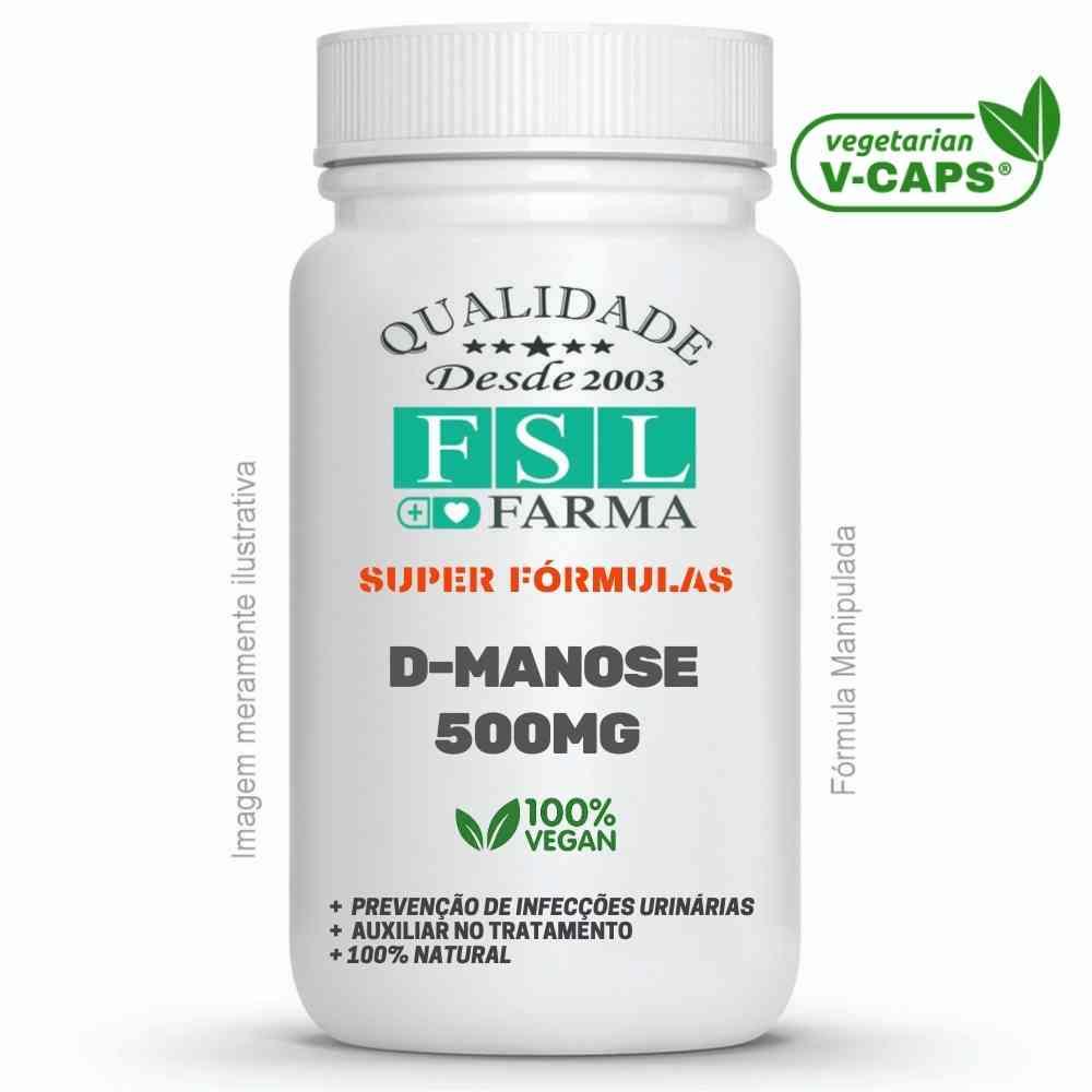 D-Manose 500mg Vegan - Infecção Urinária ®