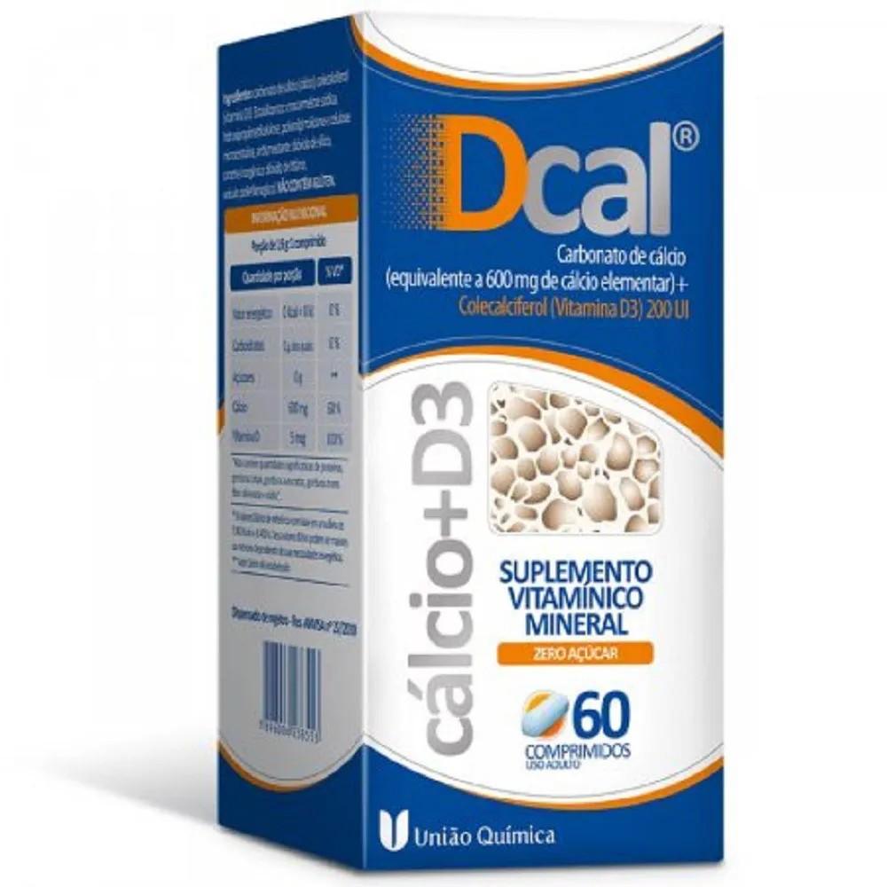 Dcal 600 mg 60 Comprimidos