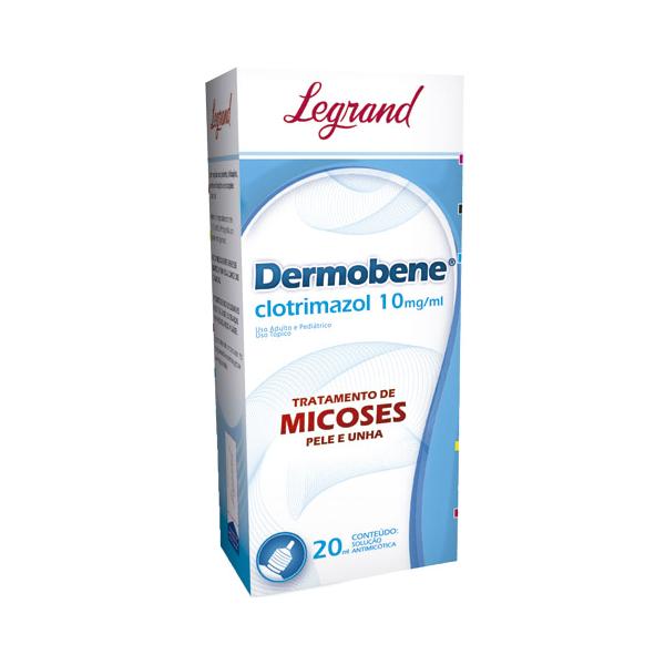 Dermobene Solução Tópica 10mg/ml com 20ml - Legrand