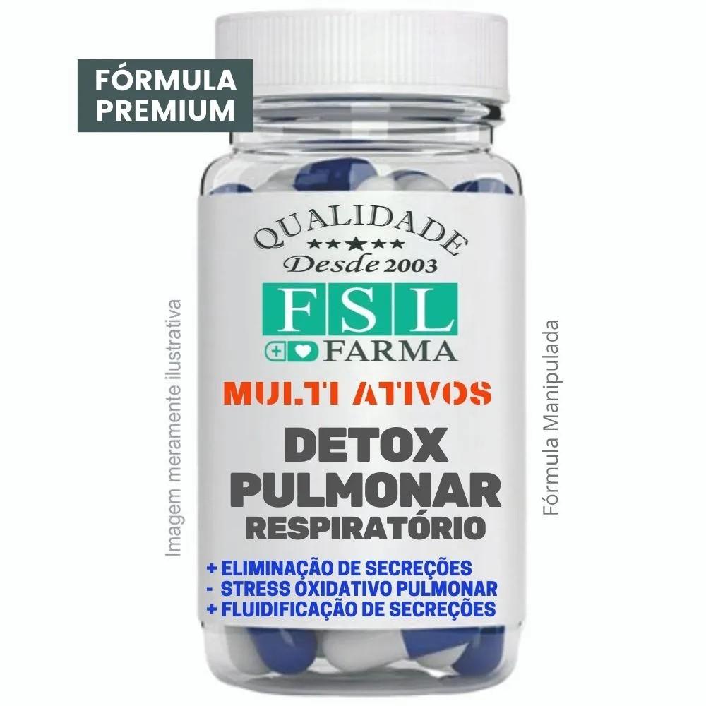 Detox Pulmonar Respiratório