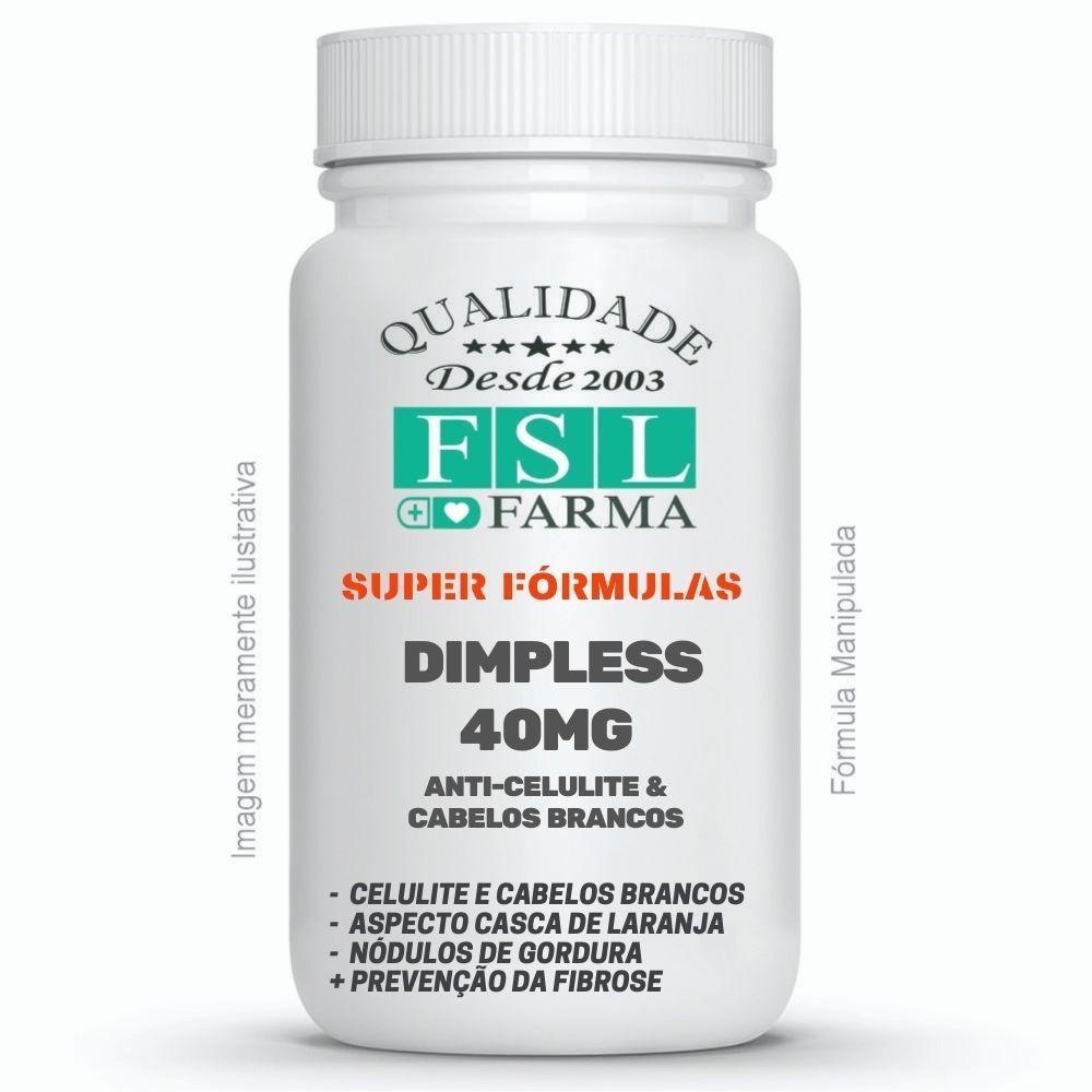 Dimpless 40mg Sublingual - Combate Celulite e cabelos brancos ®