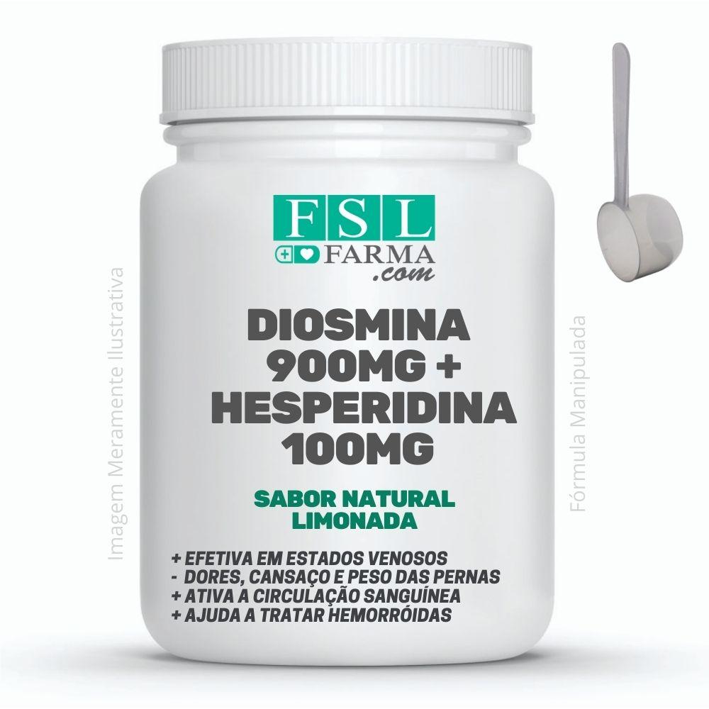 Diosmina 900mg + Hesperidina 100mg - Ativa o Sistema Circulatório - Sabor Limonada ®