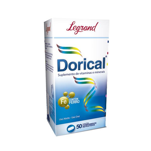 Dorical com 50 comprimidos - Legrand