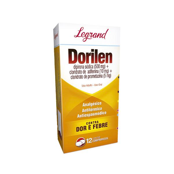 Dorilen com 12 comprimidos - Legrand