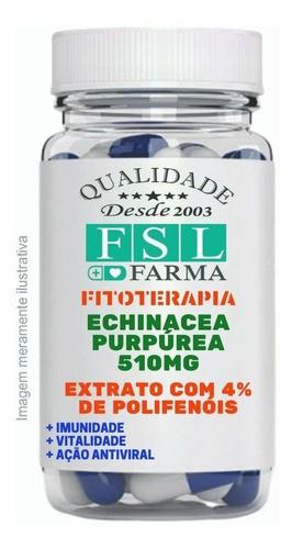 Echinacea Purpúrea Extrato 500Mg - 250 Cápsulas
