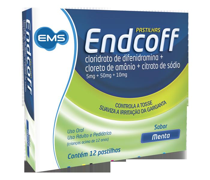 Endcoff (Menta) com 12 pastilhas - Ems