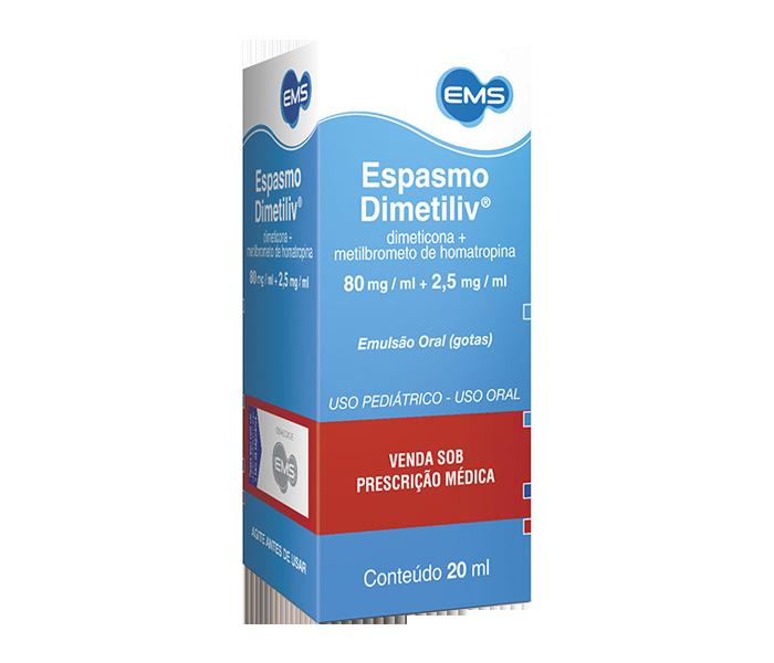 Espasmo Dimetiliv com 20ml - EMS