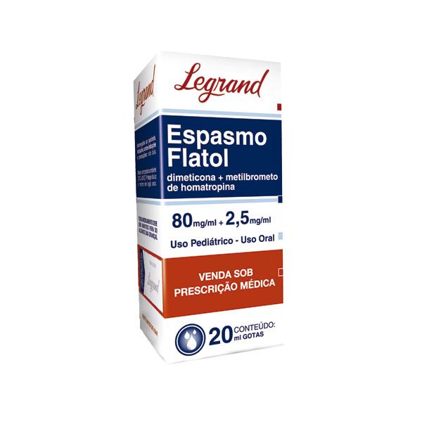 Espasmo Flatol com 20ml - Legrand