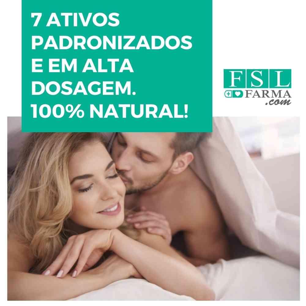 Estimulante da Libido Masculina 100% Natural ®