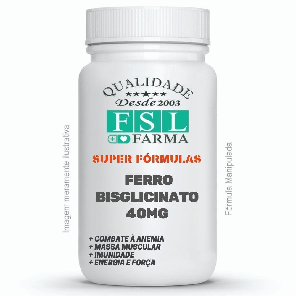 Ferro Bisglicinato 40mg ®