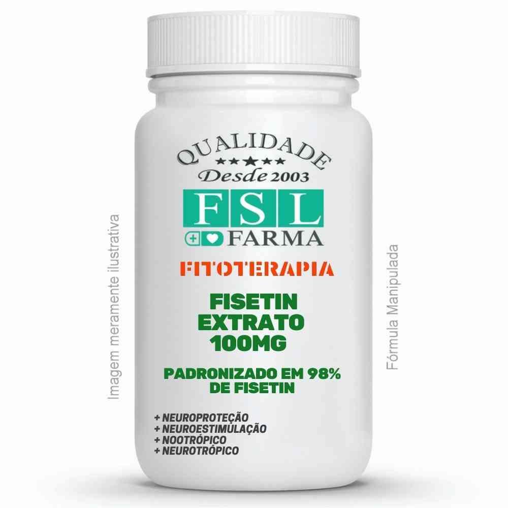 Fisetin 100mg - Agente Neuroprotetor ®