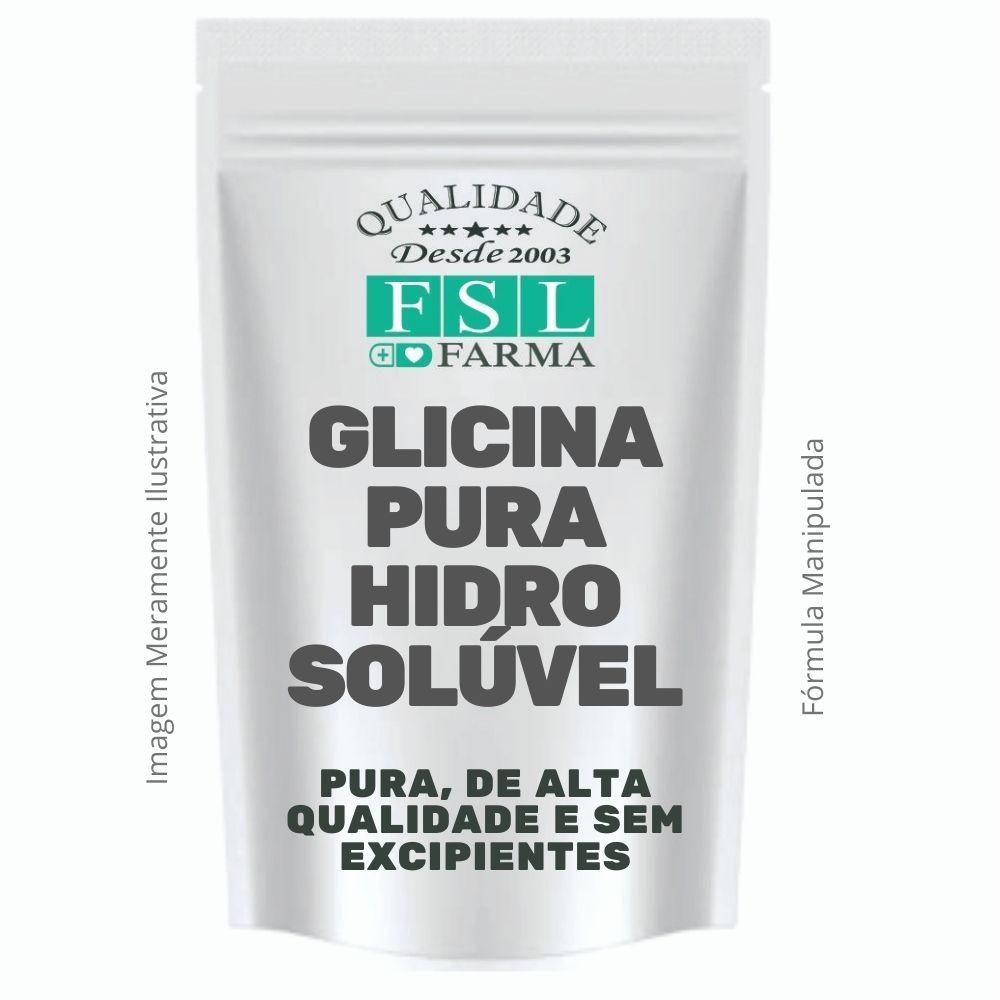 Glicina Pura Vegan Hidrosolúvel