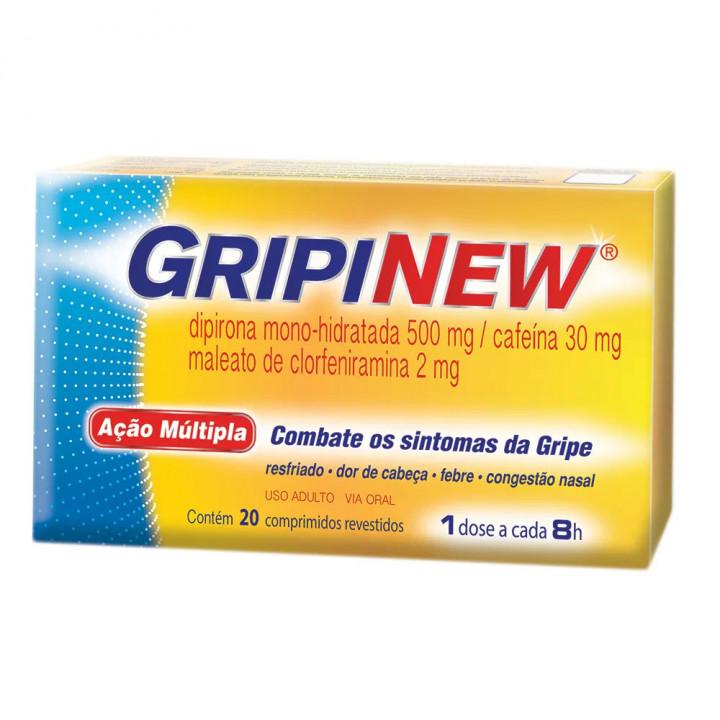 Gripinew 20 Comprimidos