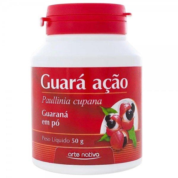 Guará Ação Guaraná em Pó Arte Nativa 50g