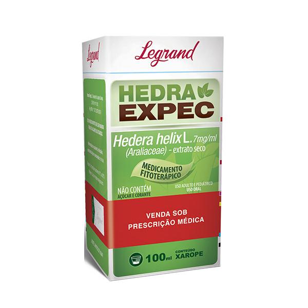Hedra Expec 7mg/ml com 100ml - Legrand
