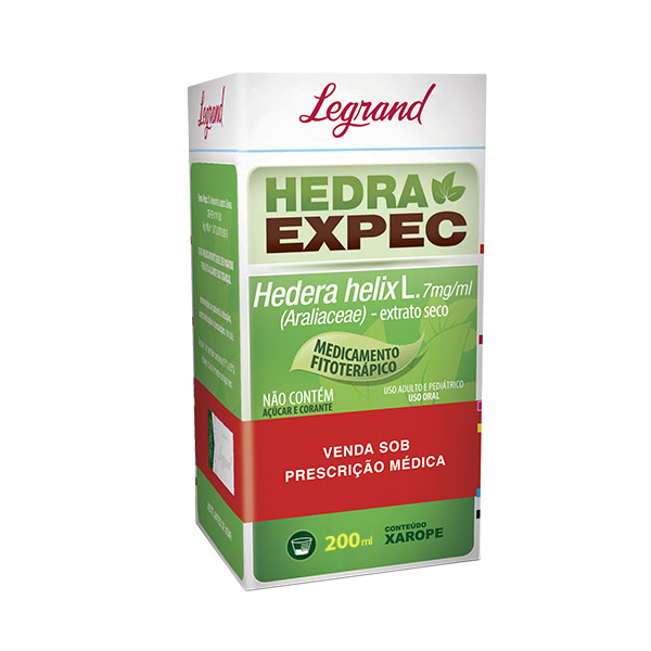 Hedra Expec 7mg/ml com 200ml - Legrand
